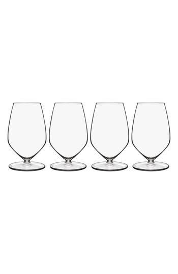 Luigi Bormioli T-Glass Set Of 4 Riesling Glasses, Size One Size - White