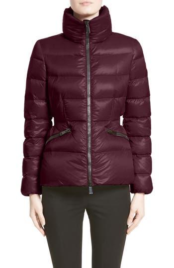 Moncler Danae Down Puffer Jacket, Burgundy