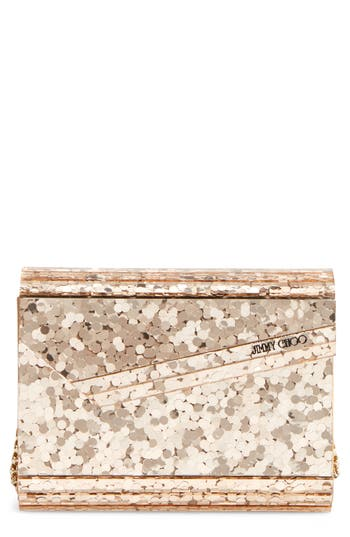 Jimmy Choo Candy Clutch - Metallic