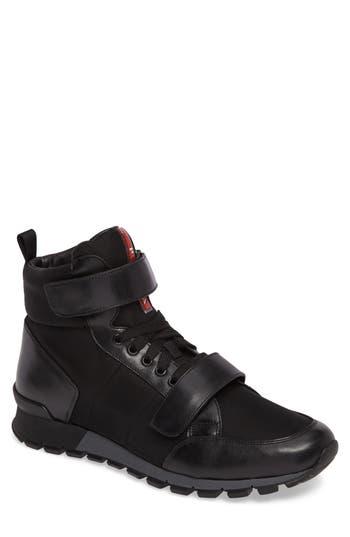 Men's Prada High Top Sneaker