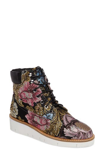 Shellys London Erin Brocade Boot, Black