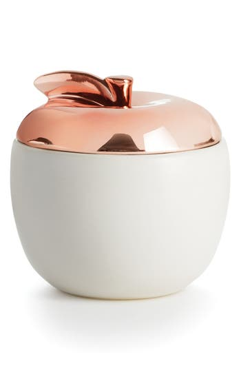 Illume Cider Woods Lidded Ceramic Candle, Size One Size - Metallic