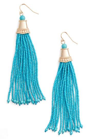 Women's Adia Kibur Beaded Tassel Earrings