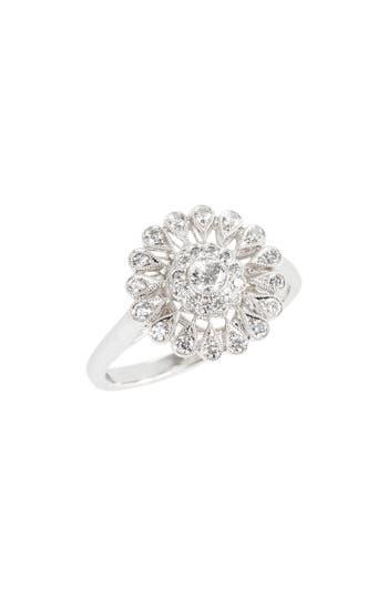 Women's Kwiat Vintage Flower Diamond Ring