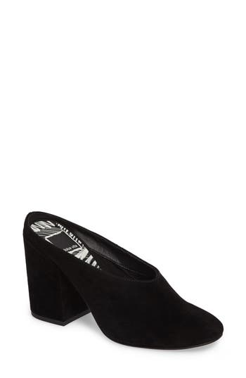 Women's Dolce Vita Caley Block Heel Mule, Size 6 M - Black