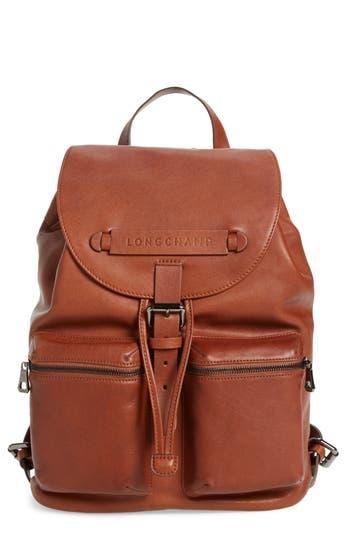 Longchamp Medium 3D Leather Backpack -