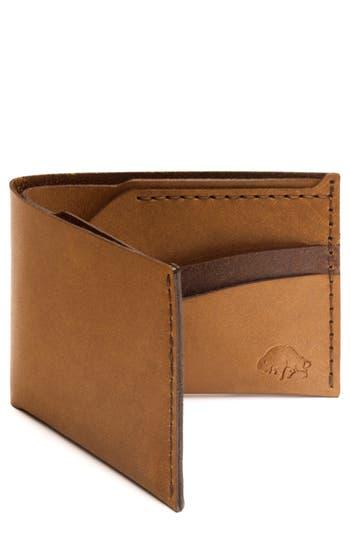 Ezra Arthur No. 6 Leather Wallet - Brown