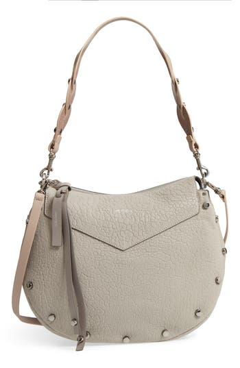 Jimmy Choo Artie Studded Leather Hobo Bag -