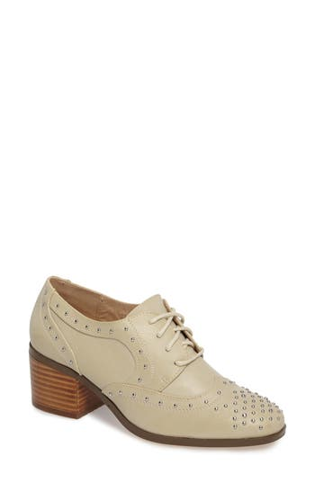 Coconuts By Matisse Fleur Studded Oxford Pump, Ivory