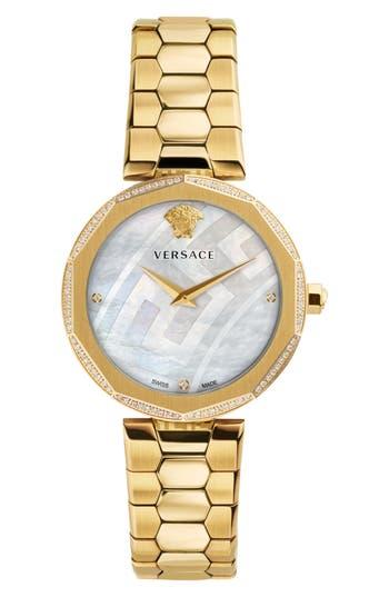 Women's Versace Idyia Diamond Bracelet Watch, 36Mm