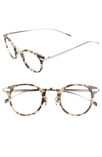 Derek Lam 47Mm Optical Glasses - Matte Soft Tortoise