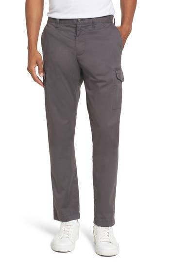 Nordstrom Shop Regular Fit Cargo Pants, Grey