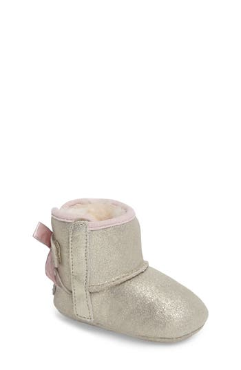 Infant Girl's Ugg Jesse Bow Ii Metallic Bootie