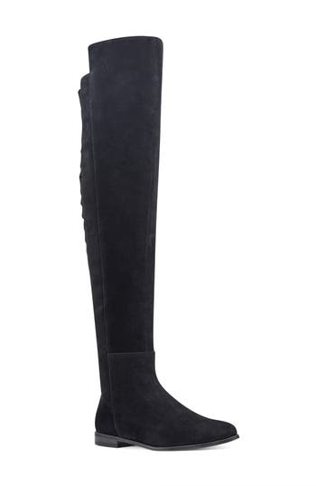 Nine West Eltynn Over The Knee Boot, Black