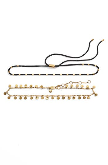 Madewell  SET OF 2 CHOKER NECKLACES