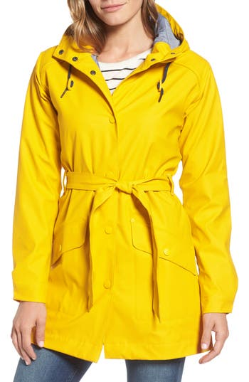 Women's Helly Hansen Kirkwall Raincoat, Size Medium - Yellow