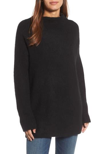 Women's Eileen Fisher Cashmere Blend Tunic Sweater, Size XX-Small - Black