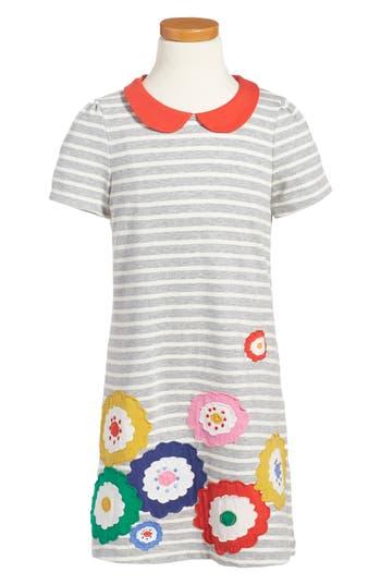 Girl's Mini Boden Fun Appliqué Jersey Dress