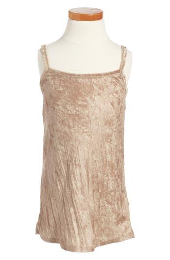 Girl's Beru Fiona Slipdress, Size 6-7 - Metallic