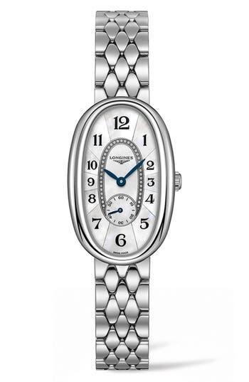 Women's Longines Symphonette Bracelet Watch, 21.9Mm X 34Mm