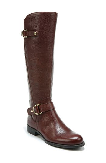 Naturalizer Jenelle Tall Boot Regular Calf- Brown