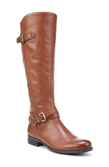 Naturalizer Jodee Knee High Boot Wide Calf- Brown