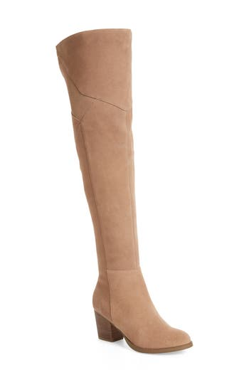 Sole Society Catalina Over The Knee Boot, Brown