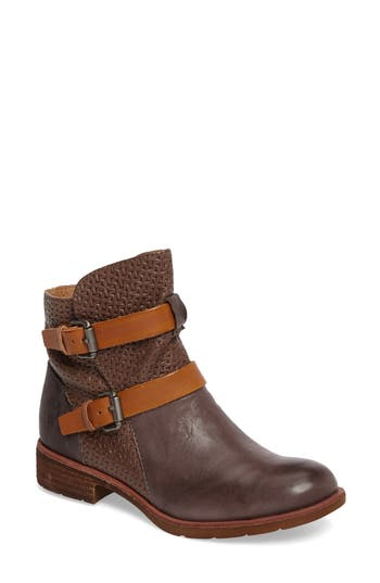 Sofft Baywood Buckle Boot, Grey