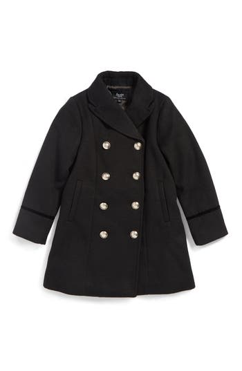 Girl's Bardot Junior Military Coat, Size 4T US / 4 AUS - Black