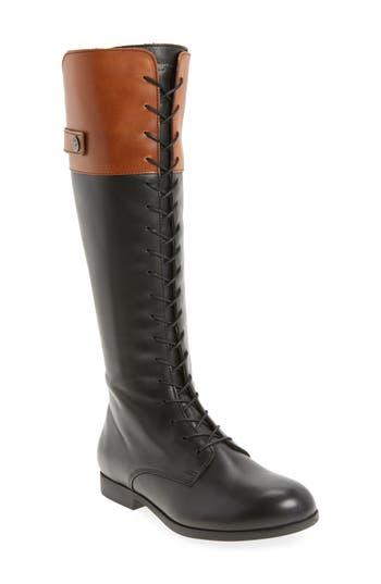 Birkenstock Longford Knee-High Lace-Up Boot, Brown