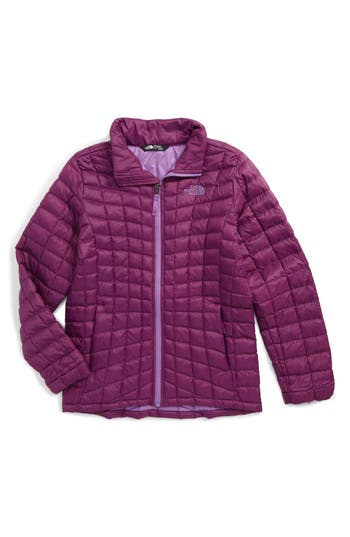 Girl's The North Face Thermoball™ Primaloft Quilted Jacket