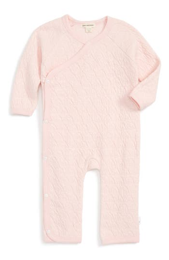 Infant Girl's Burt's Bees Baby Quilted Organic Cotton Romper