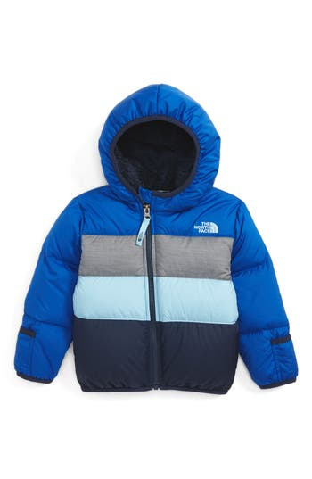 Infant Boy's The North Face 'Moondoggy' Reversible Down Jacket