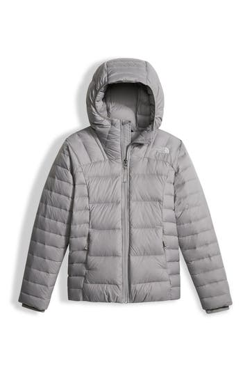 Girl's The North Face Double Down Water Resistant 550-Fill Power Down Insulated Jacket