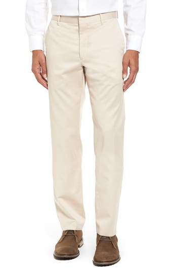 Men's Vintage Style Pants, Trousers, Jeans, Overalls Mens Bonobos Weekday Warrior Non-Iron Slim Fit Cotton Chinos Size 32 x 32 - Beige $98.00 AT vintagedancer.com