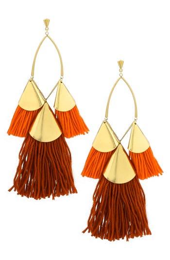 Women's Ettika Tassel Statement Earrings
