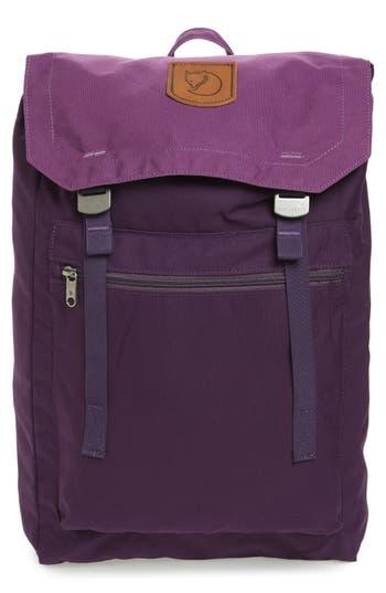 Fjallraven Foldsack No.1 Water Resistant Backpack - Purple