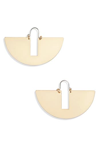 Women's Topshop Flat Semi Circle Earrings