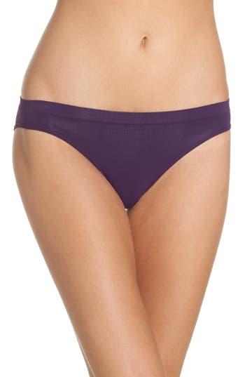 Women's Halogen Seamless Bikini, Size Small - Purple