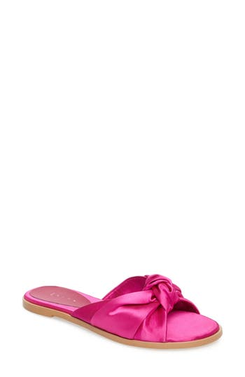 Women's Leith Nevie Knotted Slide Sandal, Size 7.5 M - Pink