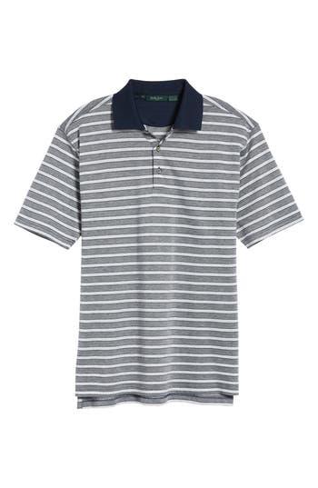 Men's Bobby Jones Breene Jacquard Stripe Polo