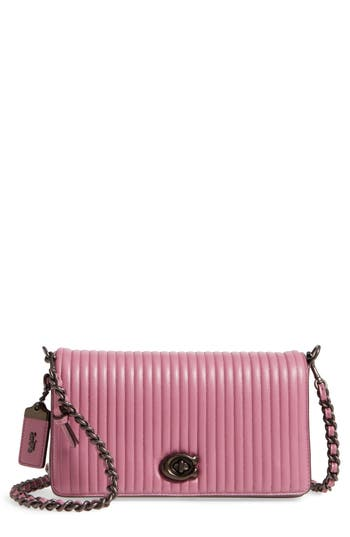 Coach 1941 Dinky Quilted Leather Crossbody Bag - Pink