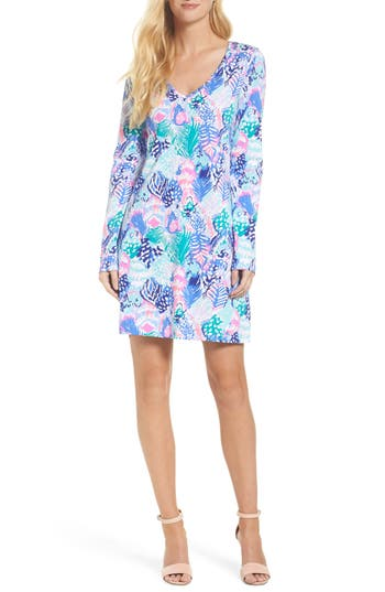 Women's Lilly Pulitzer Beacon Dress, Size XX-Small - Blue/green