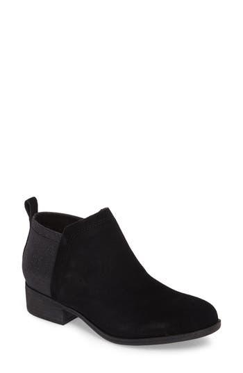 Women's Toms Deia Zip Bootie, Size 5 M - Black