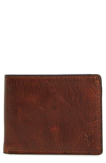Frye Logan Leather Wallet - Brown