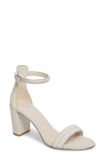 Women's Kenneth Cole New York 'Lex' Ankle Strap Sandal, Size 9 M - Metallic