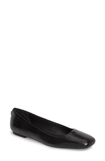 80676ba9542 Calvin Klein Women S Square-Toe Enith Flats Women S Shoes In Black ...