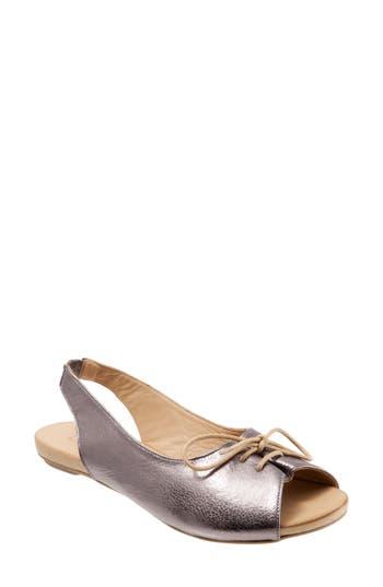 Women's Bueno Keely Slingback Tie Sandal, Size 10US / 41EU - Metallic