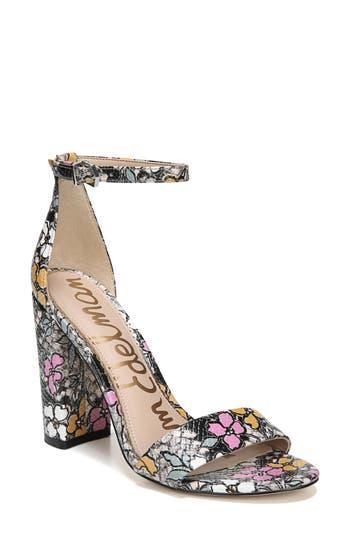 Sam Edelman Yaro Ankle Strap Sandal- Black
