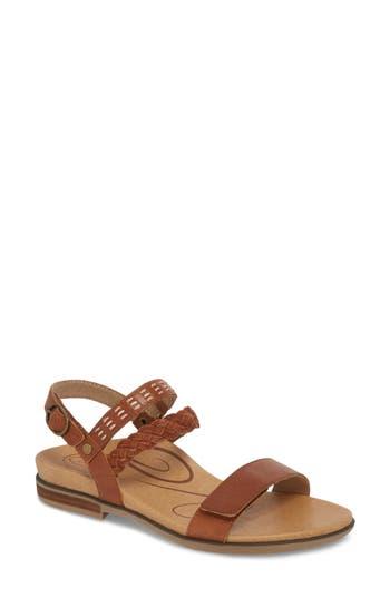Women's Aetrex Celeste Sandal, Size 35 EU - Brown